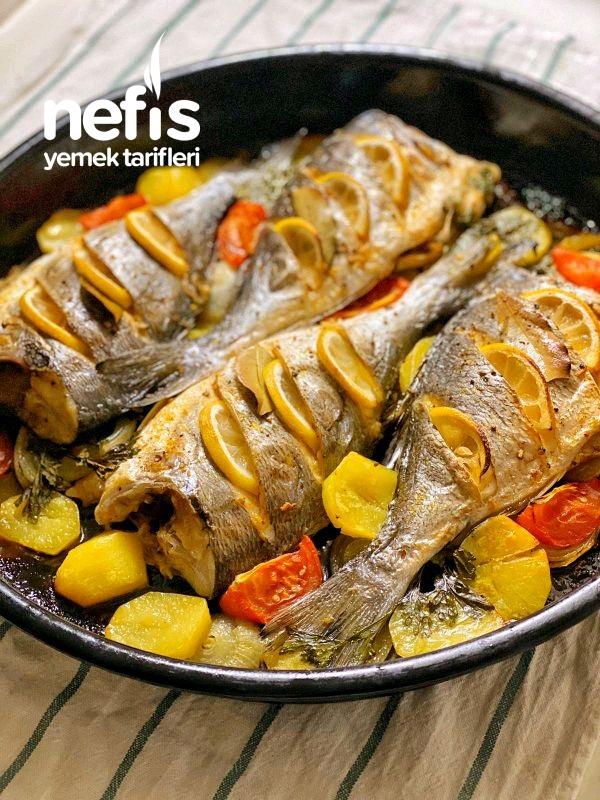 Firinda Balık (Çipura) Lezzet Garantili