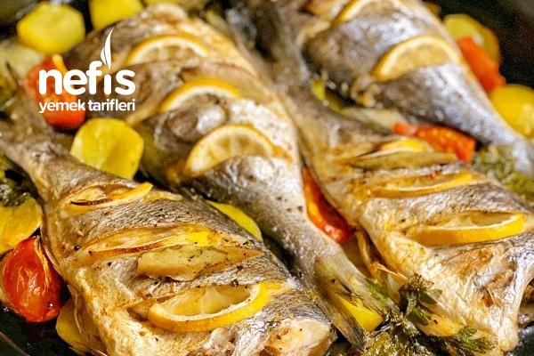 Fırında Balık (Çipura) Lezzet Garantili Tarifi