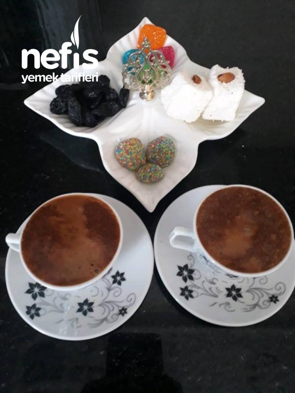 Maden Sulu Bol Köpüklü Kahve