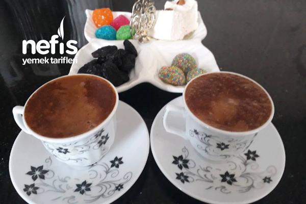Maden Sulu Bol Köpüklü Kahve Tarifi