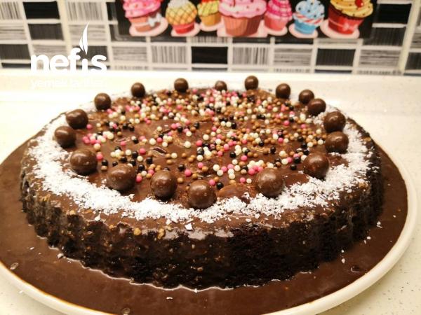 Muzlu Çikolatalı Tart Pasta – Bir Dilim Asla Yetmeyecek