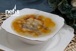 Nohutlu Düğün Çorbası (Özel Eti Ve Suyu İle) Tarifi