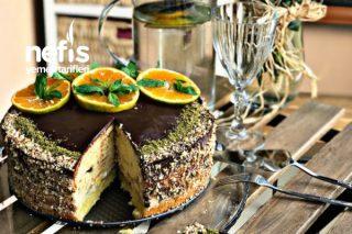 Yumuşacık Pandispanyadan Muzlu Yaş Pasta Tarifi
