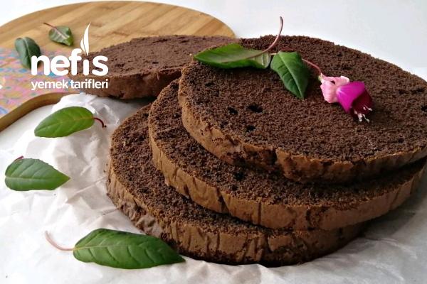 Pasta İçin Kakaolu Pandispanya Tarifi (Videolu)