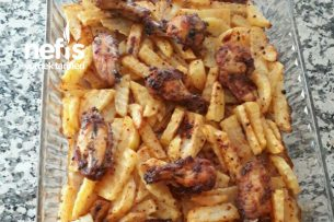 Patatesli Tavuklu Fırın Yemeği Tarifi