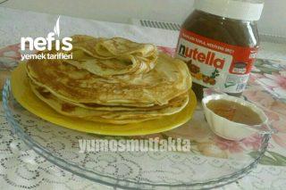 Kahvaltılık Krep (Pankek) Tarifi
