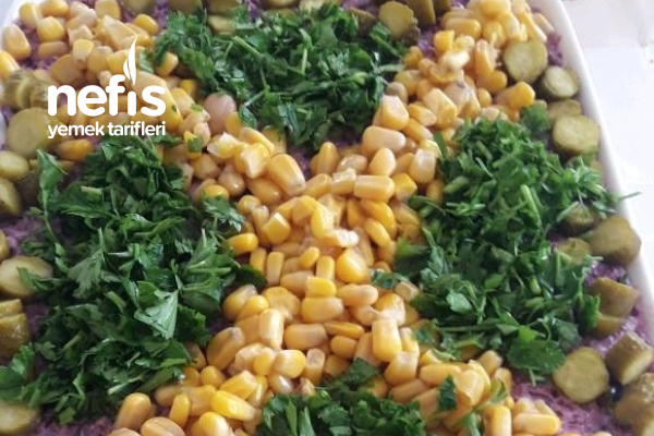 Kavrulmuş Mor Lahana Salatası Tarifi