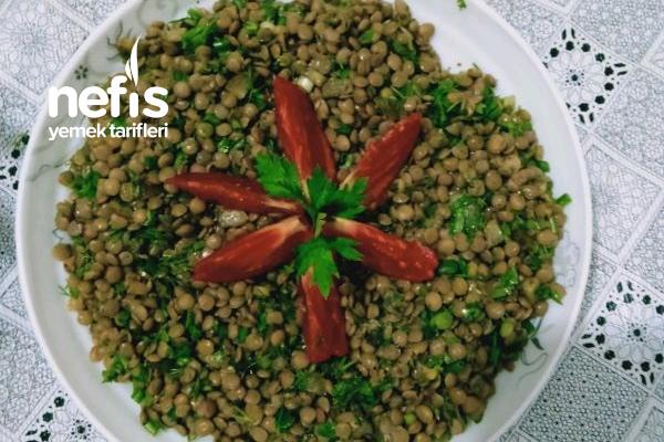 Yeşil Mercimek Salata Tarifi