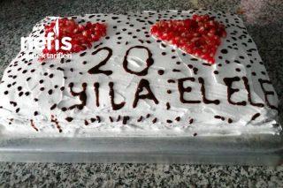 20. Yıl Pastamız Tarifi