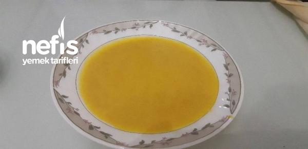 Az Malzemeli Kabak Çorbası