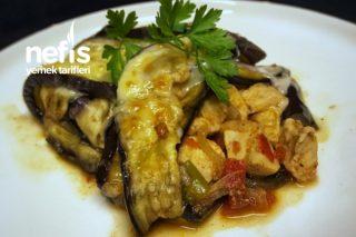 Patlıcanlı Tavuk Kapama Tarifi