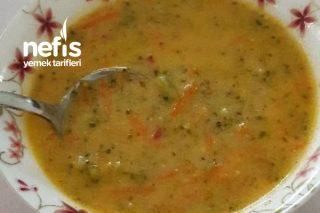 Renkli Brokoli Çorbası Tarifi