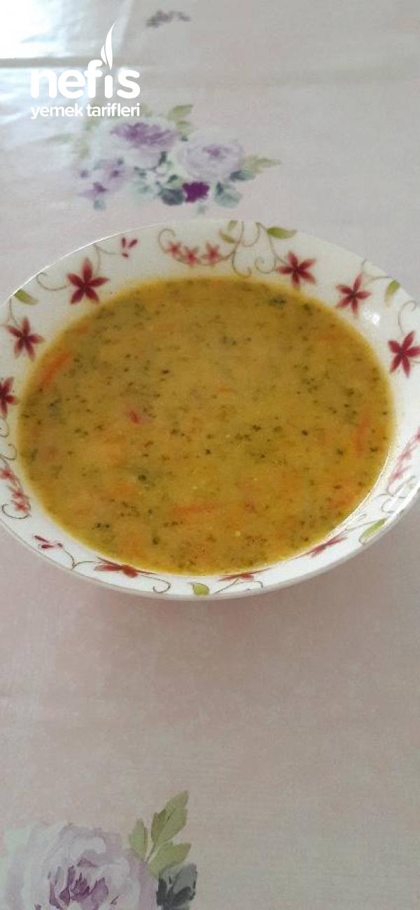 Renkli Brokoli Çorbası