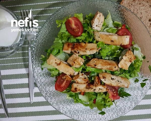 Tavuklu Diyet Salata