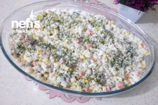 Böyle Makarna Salatası Yediniz Mi? (Videolu) Tarifi
