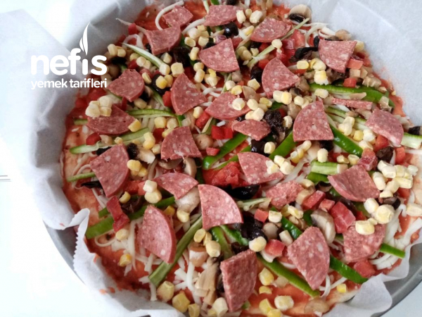 Can Kurtaran Pizza (Derin Dondurucuda Saklanabilengillerden)