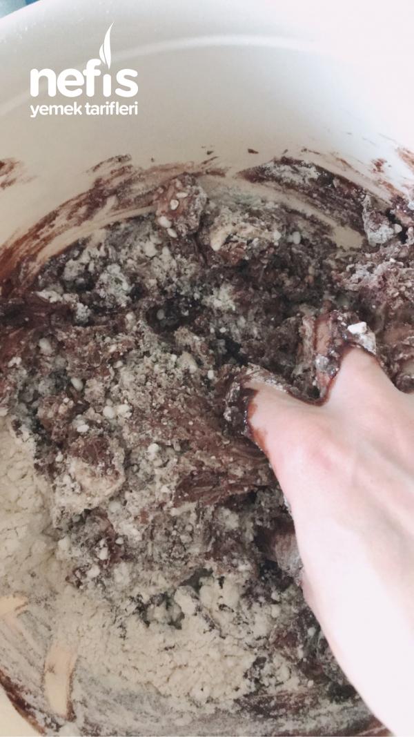 Kakaolu Tahinli Helva Kurabiye