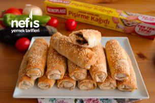 Patlıcanlı Çıtır Börek Tarifi  – Hazır Yufkadan Nefis Bir Börek
