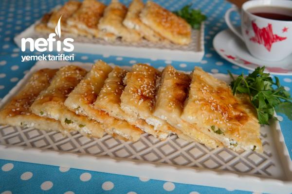 Sodalı Peynirli Börek Tarifi (videolu)