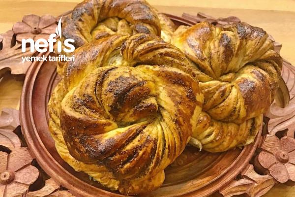 Tel Tel Ayrılan Yumuşacık Haşhaşlı Çörek Tarifi