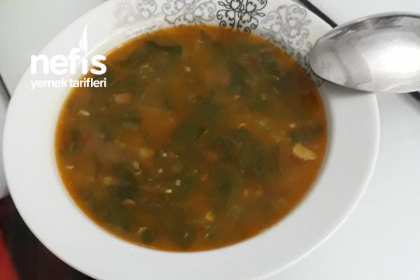 Yeşil Mercimekli Pezik Çorbası (Arap Usulü ) Tarifi