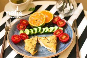 Bohçalı Peynirli Omlet Tarifi