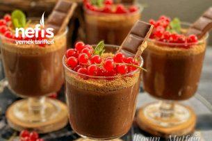 Çikolatalı Puding Muhallebi Tarifi