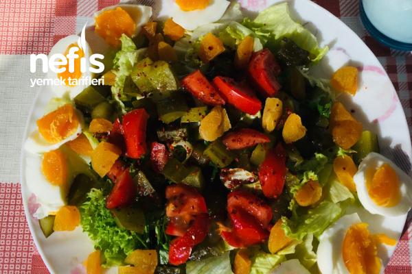 Diyet Salatası (Çok Doyurucu) Tarifi