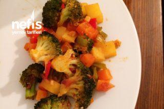 Fırında Brokoli (Et Yanına) Tarifi