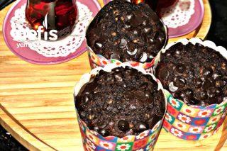 Muzlu Fındıklı Çikolatalı Cupcake Tarifi