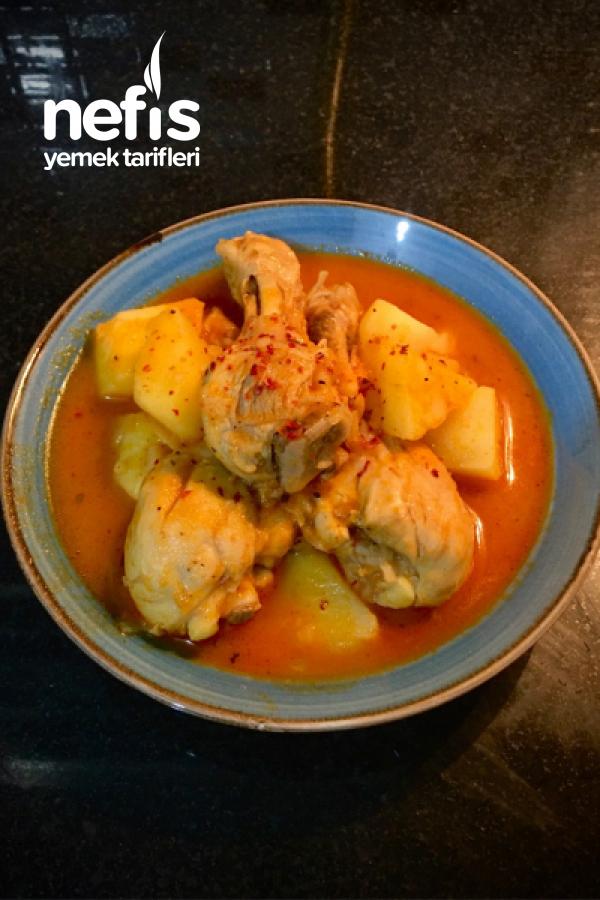 Tavuklu Patatesli Sulu Yemek