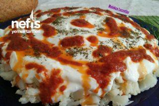 Yoğurtlu Karnabahar Kavurma Salatası Tarifi