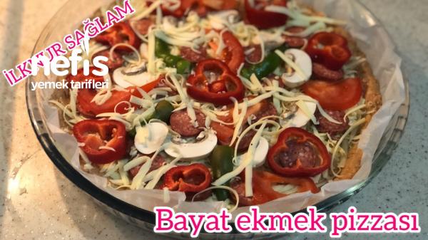 Bayat Ekmek Değerlendirme/bayat Ekmek Pizzası Tarifi