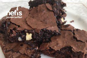Browni (Cevizli Fındıklı Çikolatalı Aşırı Islak Sevenler İçin) Tarifi
