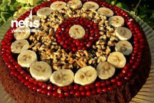Çikolatalı Meyveli Tart Tarifi