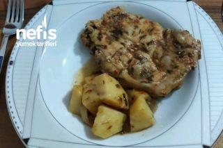 Fırında Tavuk Pirzola (Mangal Tadında) Tarifi
