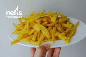 Hafif Çıtır Yağ Çekmeyen Patates Kızartması Tarifi
