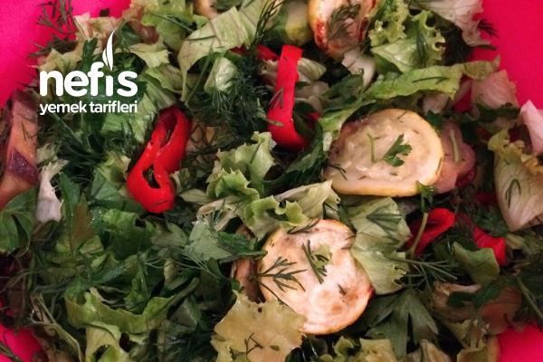 Izgara Sebze Salatası Tarifi