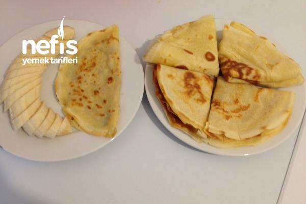 Kahvaltılık Krep (Videolu) Tarifi