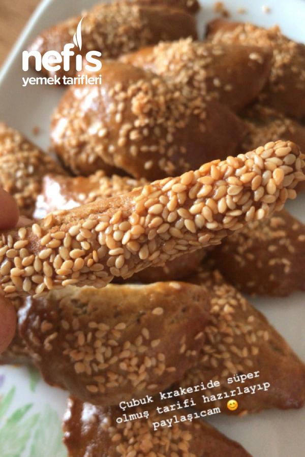 Karabuğdaylı Tuzlu Kurabiye