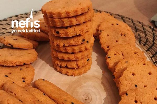 Mercimek Unlu Zencefilli Çörek Otlu Glutensiz Kurabiye Tarifi