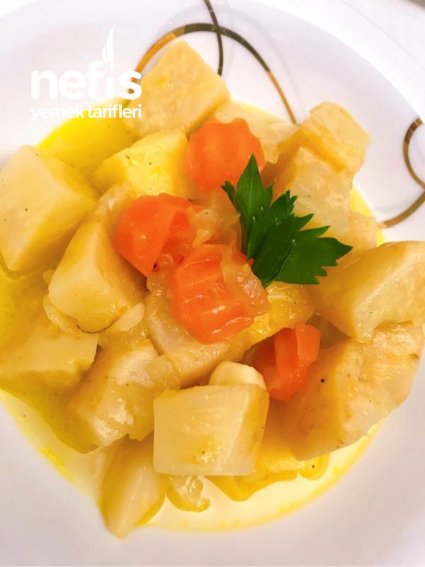 Portakallı Zeytinyağlı Kereviz