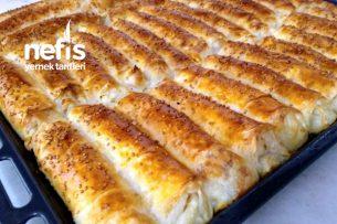Sodalı Peynirli Rulo Börek Tarifi