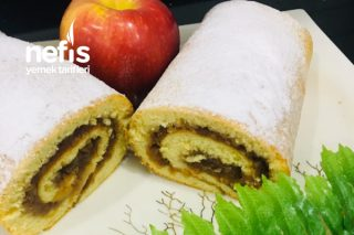 Son Günlerin Trendi Mevsiminde Elmalı Rulo Pasta Tarifi