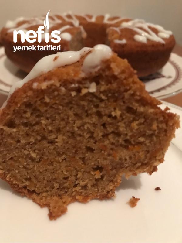 Çaylı Havuçlu Glutensiz Kek