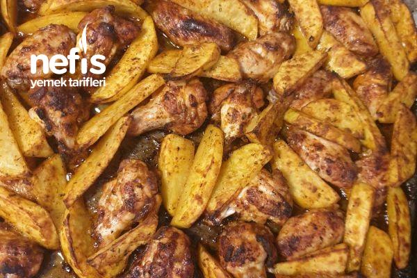 Fırında Patates Kanat Tarifi