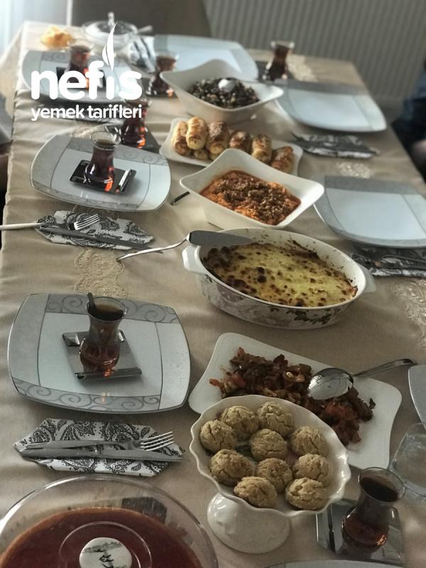 Gün Menüm & Çay Saati Tercihlerimiz :)