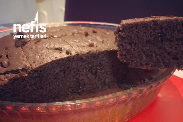 Hazır Kek Tadında Kakaolu Çikolata Parçacıklı Kek Tarifi