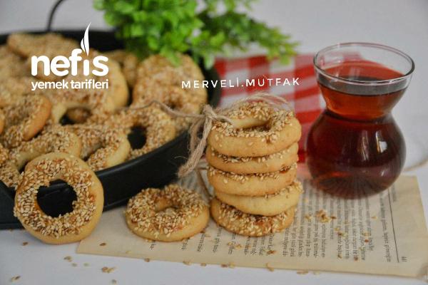 Kıyır Kıyır Kandil Simidi ( Pastane Usulü ) Tarifi