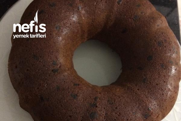 Limonlu Damla Çikolatalı Kek Tarifi